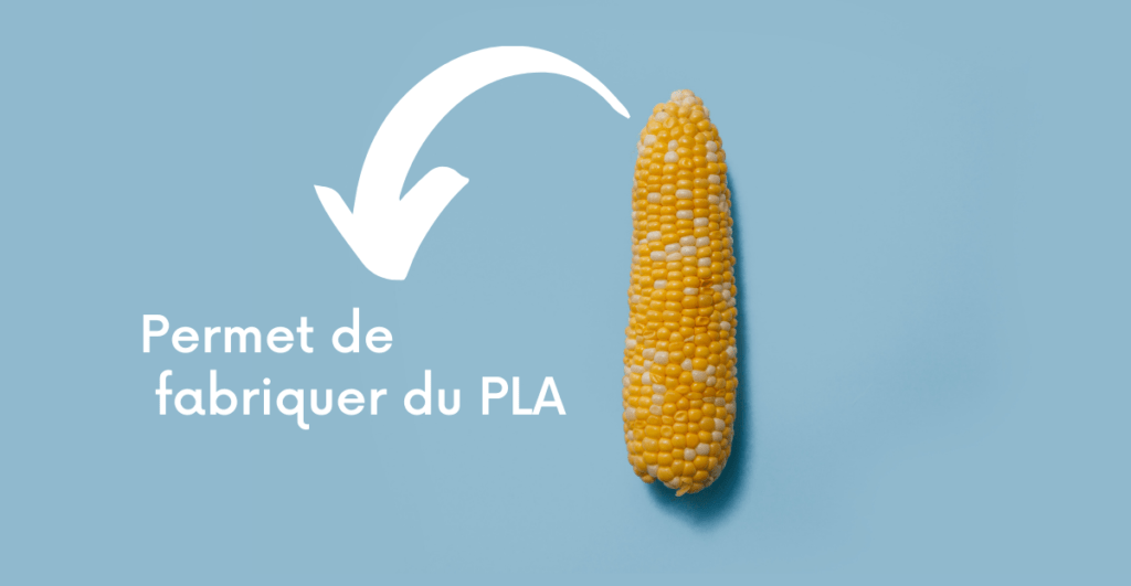 PLA bioplastique biosourcé et biodégradable